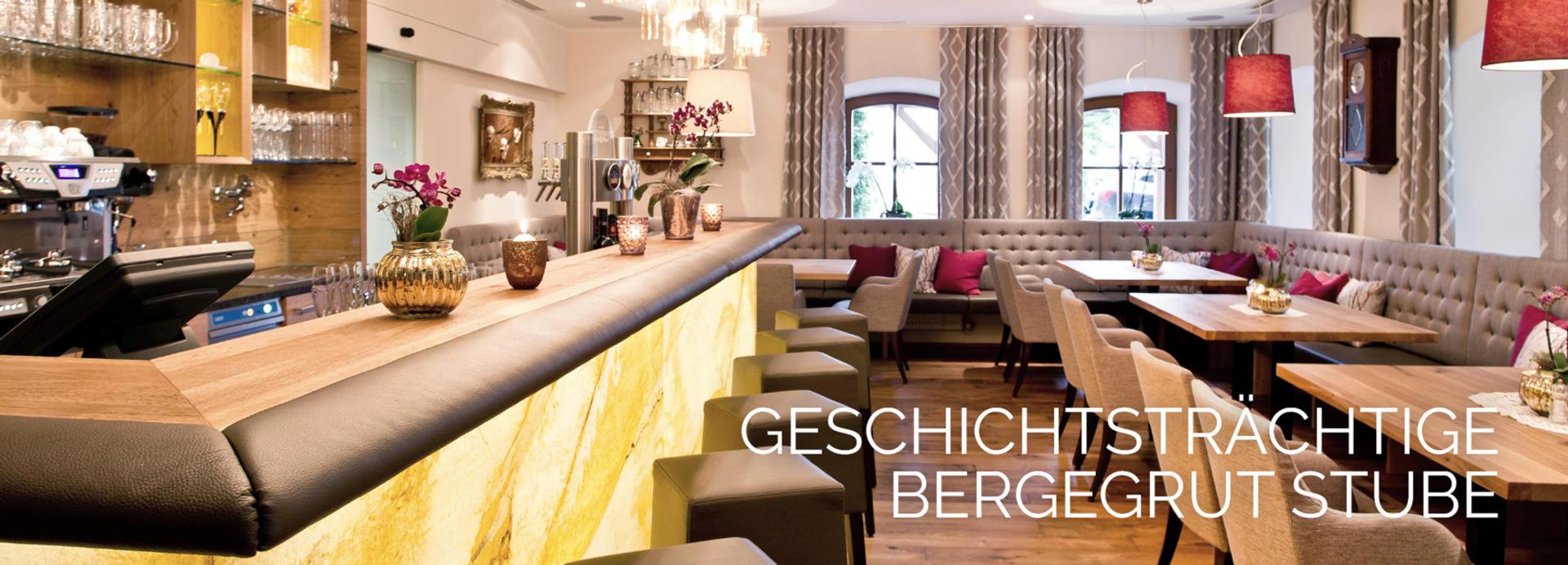 Speisekarte Culinariat By Bergergut Hotel Bergergut S Boutique